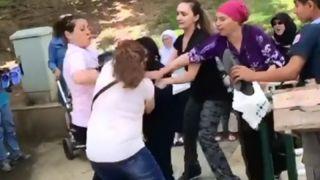 CHP'liler şehit annesine saldırdı